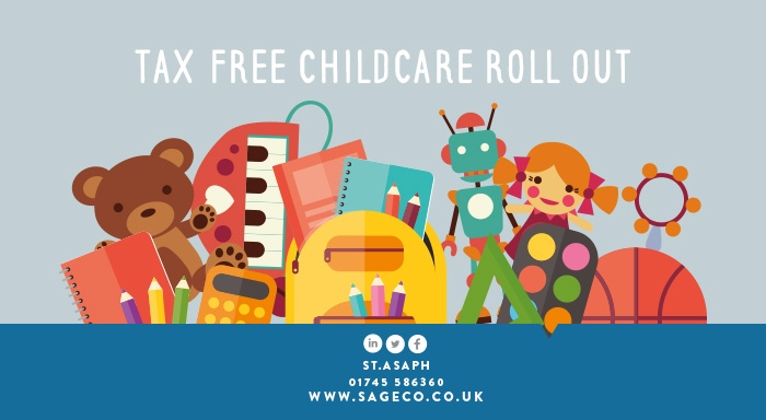 tax free childcare roll out sage